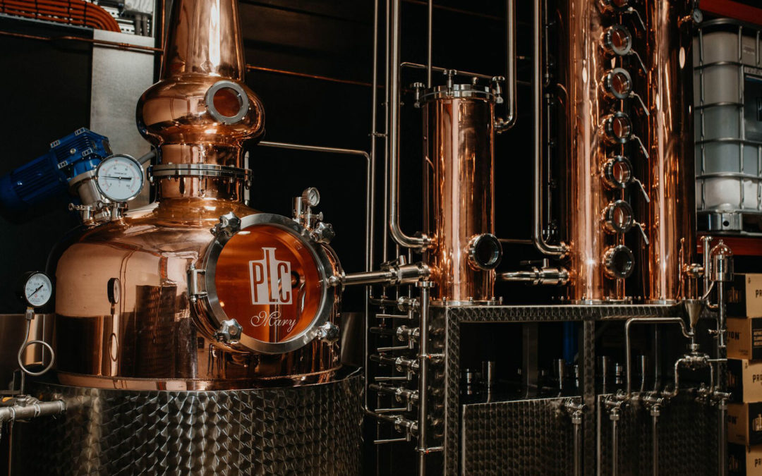 How a specialist electrician and plumber helped produce award-winning gin.